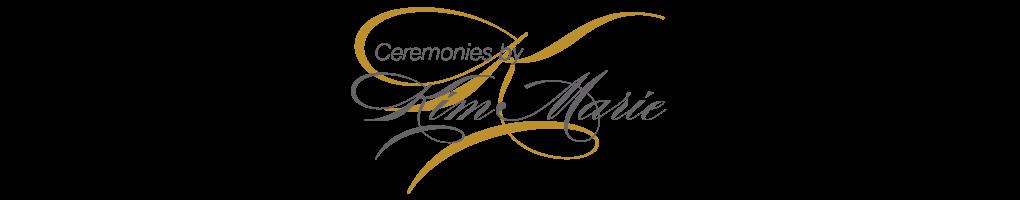 Love My Ceremony – Ceremonies by Kim Marie